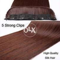 Long Straight Hair Extension 5 clip