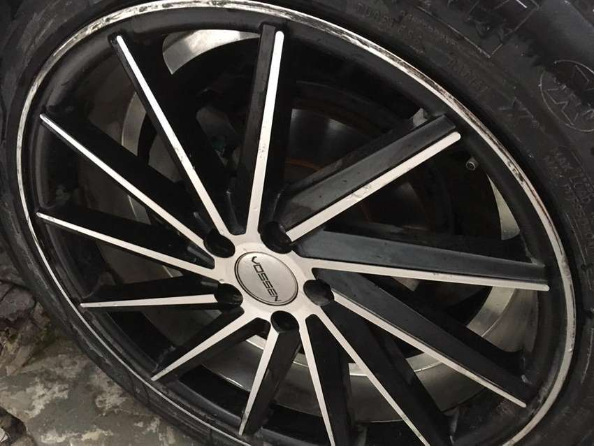 Rims For Cheap >> Tyres And Vossen Rims 17 Inch Gone Cheap