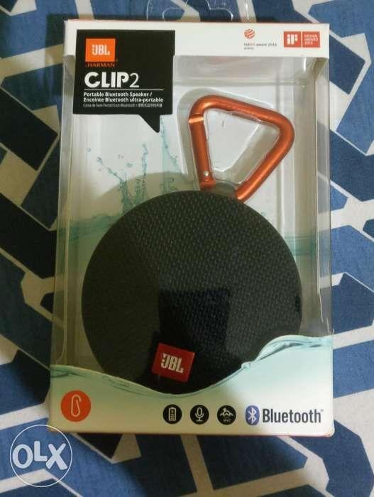 Jbl clip 2 black bluetooth waterproof speaker ...