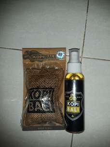 Pengharum Kopi Bali ORI + Refill Spray Black Coffe 100 ml
