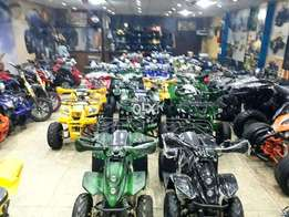 double led lights sports model atv quad bikes deliver all over pak