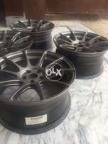 GENUINE SSW 17 inch alloy wheels for corolla.