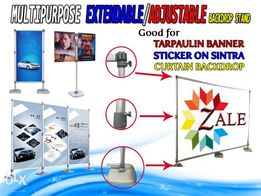 Backdrop stand view all ads available in the philippines olx recommended seller sponsored multipurpose extendable adjustable backdrop standee exhibition stand solutioingenieria Gallery
