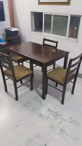 Dining Table 4 Set Used Furniture For Sale In Delhi Olx