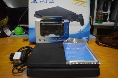 Ps4 Slim Playstation 4 Slim 500 gb Original Fullset.
