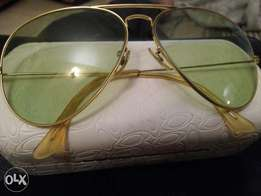 Original Bauch and Lomb Rayban Aviator Vintage of 1960