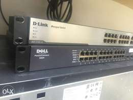 dell 24 port gigabit networking switch
