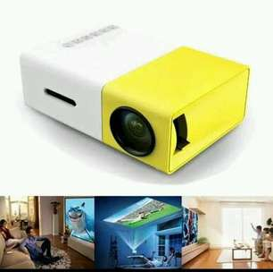 Mini Projector LED Proyektor Projektor YG300 Mini Theater