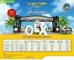 ICHS Islamabad 5 Marla 10 Marla 1 kanal Plot Available.