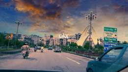 Sector f1 plot Bahria town phase 8 boulevard