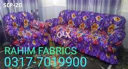 Sofa Cover in Cotton Satin Stuff 2018 collection