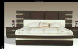 Carving bed with side table nd dressing