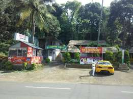 30 cent land with house near kumily town.