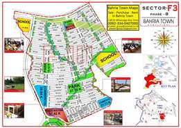 bahria town phase 8 sector F-3 (10 marla plot)