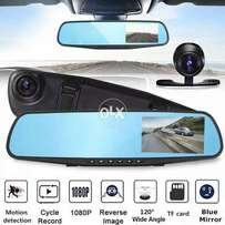 1080P FHD Rearview Mirror Car DVR Blackbox Front and Back Camera