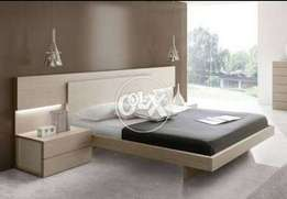 Flori dubble bed with two sides table