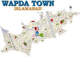 Wapda Town Islamabad Plot for sale one kanal