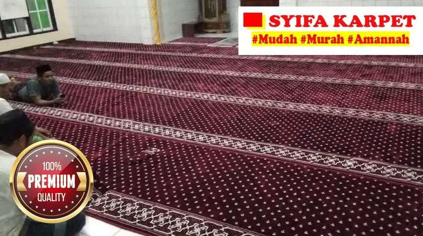Jual Karpet Masjid Best Seller Obras Dan Ngemal Di Lokasi