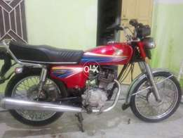 Honda 125 in nice condition first oner original plates vip number