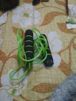 Green And Black Jumping Rope