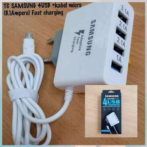 charger samsung 4usb 8.1A
