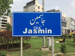 Bahria Town Lahore Jasmine Block 10 M Residential Ideal Plot