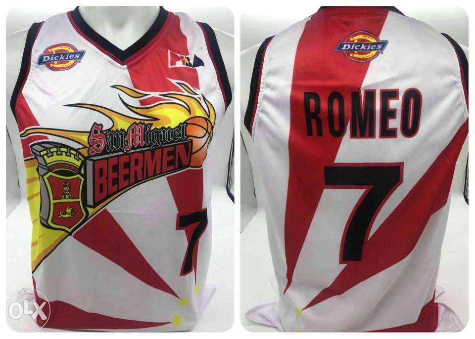 ca7ddb96992 TERRENCE ROMEO 7 San Miguel Beer PBA Sublimation Jerseys in Antipolo ...
