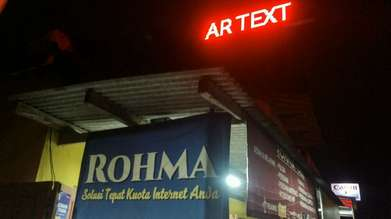 Running text Wifi bahan outdoor tahan hujan