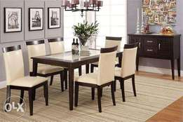 Dinning table new 6 chairs