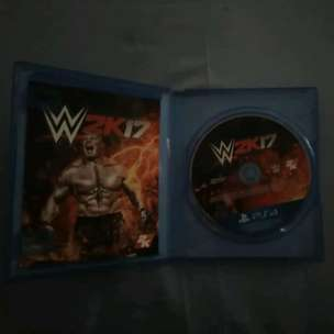 WWE 2K17 PS4 region 3