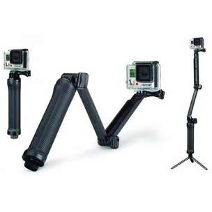 3 Way Foldable Extension Tripod for Xiaomi Yi / Xiaomi Yi 2 4K / GoPro