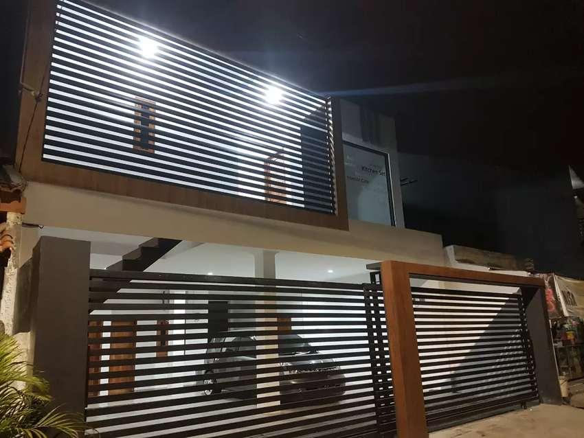 Desain Dapur Dekat Garasi kos vip di meruya dekat kampus mercubuana disewakan rumah