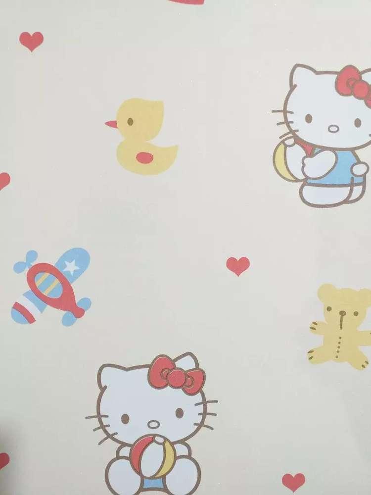 Wallpaper dinding hello kitty - Dekorasi Rumah - 760725630