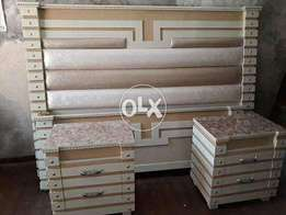 Deco paint new double bed high quality