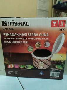 miyako rice cooker 3 in 1 kapasitas 1,8 liter