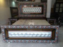 double bed new with poshish for available 00031