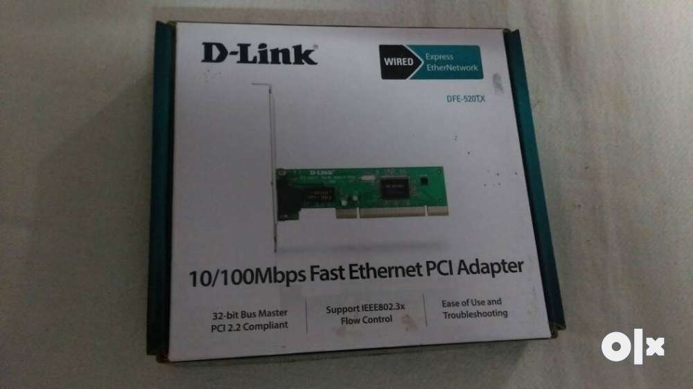 D-link ethernet pci adapter (DFE-520TX)