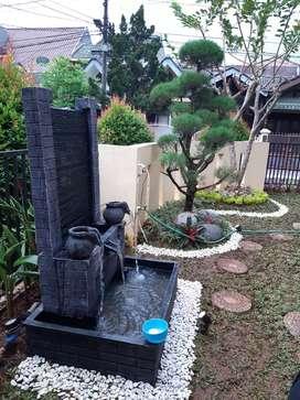 air mancur minimalis - dijual konstruksi dan taman murah