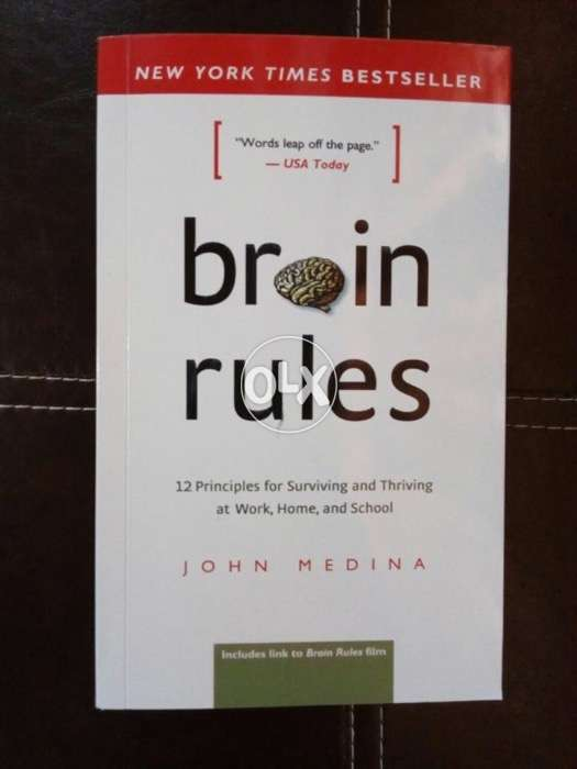 Brain rules 12 principles for surviving and thriving