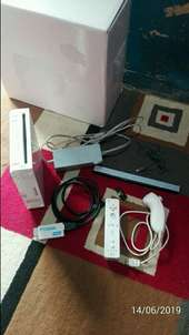 nintendo wii full set tinggal isi game