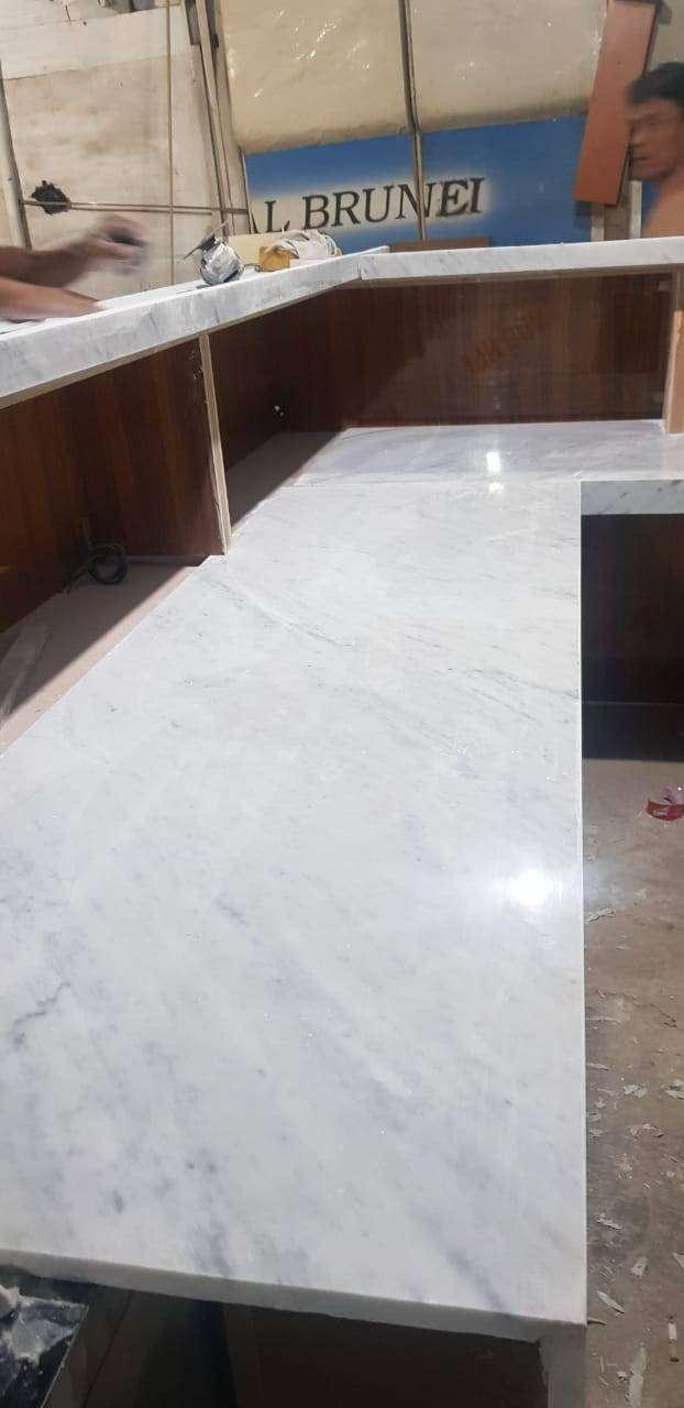 Meja Marmer / Kitchen set Marmer / Meja Granit / top table granit ...