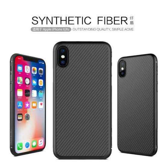 Case Iphone X Nilikin Syntethic Fiber ORI