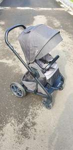 Stroller Nuna Mixx 2 Caviar Black Grey (Preloved)