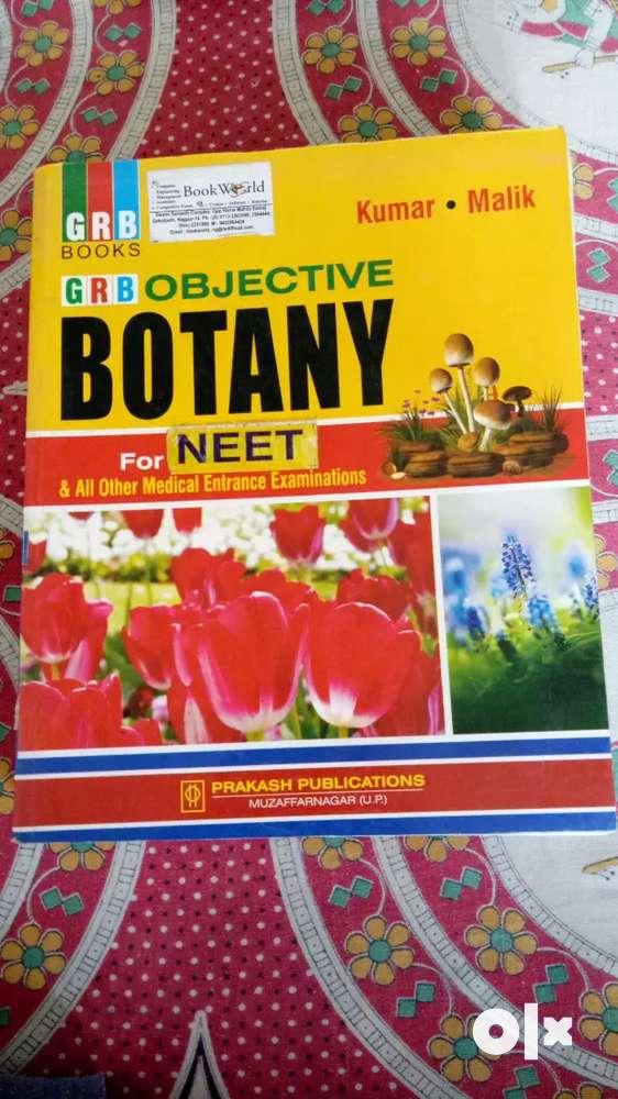 Objective Botany Book