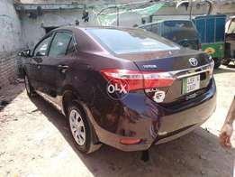 Corolla Gli for booking available for every where in Pakista