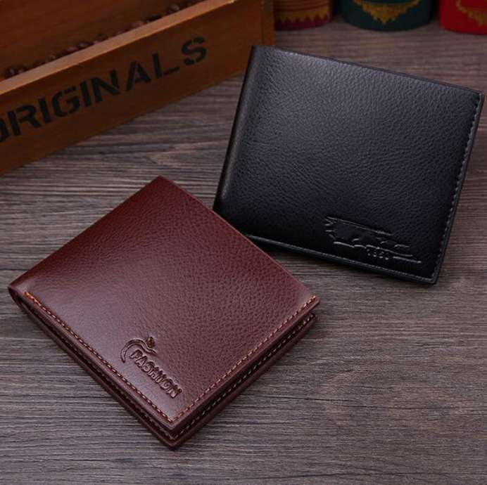 Tampilkan gambar. Close  x . Deskripsi Produk Mainland Dompet Pria Kulit  Sintetis Import Fashion Men Short Wallet ac74b7ed14