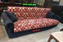 wooden Sofa cum bed sale Offer By Khawaja's Fix price