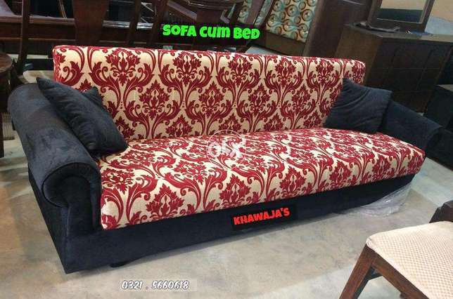 Sofa cum bed Brand new by  Khawaja's Limited Time Discount offer