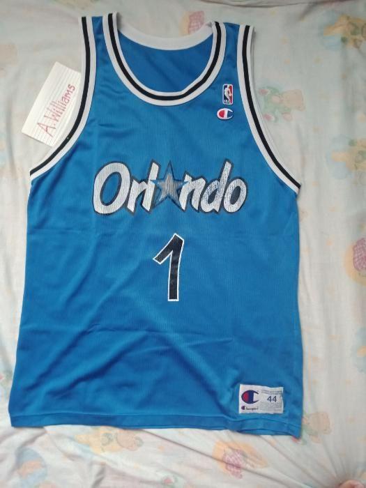 online store 082b0 c2350 Champion Orlando Magic Penny Hardaway jersey vintage Nike ...
