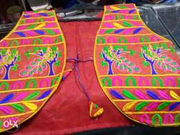 Sindhi embroided waskot for ladies